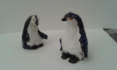 pingouins, modelage
