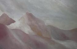 paysage, huile