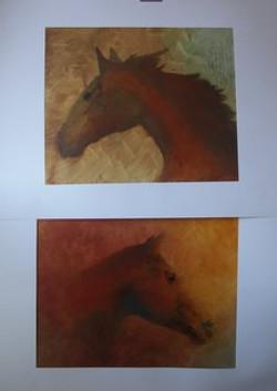 chevaux à la pochade