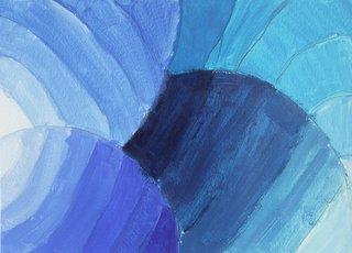 Dégradés de bleus