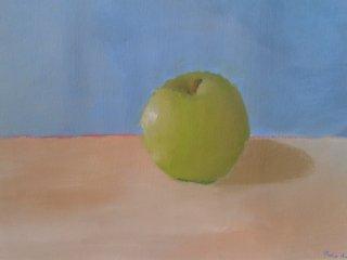 pomme verte à l'huile