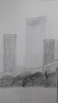 au crayon