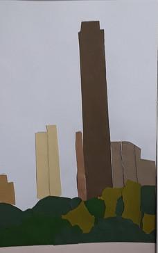 NY, collage de Théophane