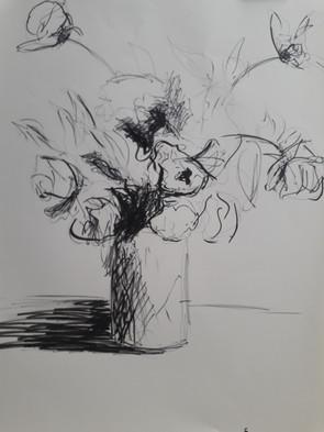bouquet -feutre