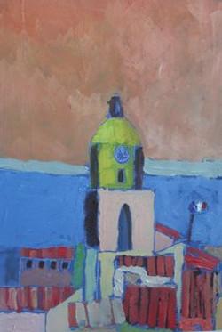 Saint Tropez, huile