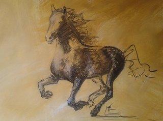 cheval de Mathilde