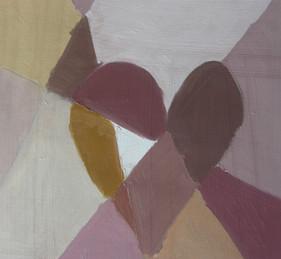 """couleurs """"terre"""", peinture à l'huile"""