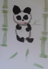 Panda, encre