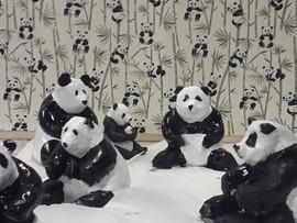 pandas (modelage argile)