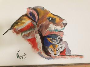lionne Pop Art