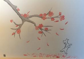 """Marguerite """"Rien ne peut empêcher l'arrivée du printemps"""""""