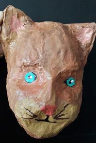 masque papier maché