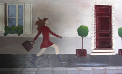 peinture à l'huile, d'Hélène
