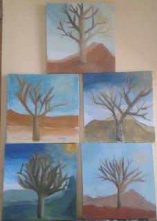 Les 5 arbres d'hivers