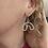 Thumbnail: Rainbow dangly earrings