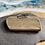 Thumbnail: Plain line hammered Stacker ring