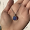 Thumbnail: Glass cabochon and silver pendant