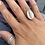 Thumbnail: Sterling silver cowrie shell ring