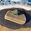 Thumbnail: Teal seaglass ring