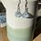 Thumbnail: Seaglass drop earrings