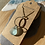 Thumbnail: Hoop and seaglass necklace
