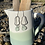 Thumbnail: Silver seaglass drop earrings