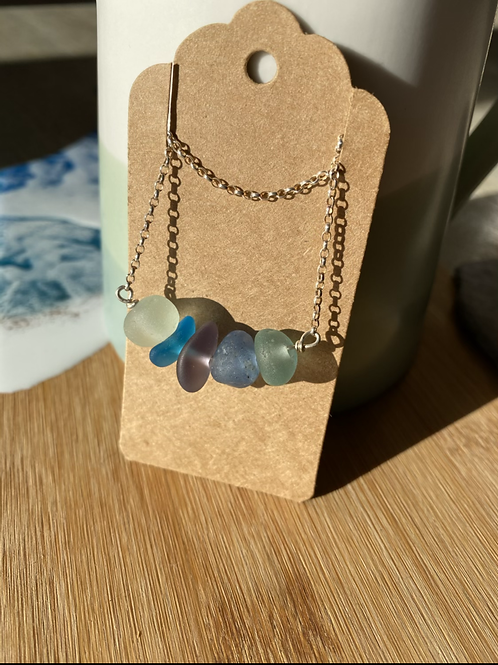 Seaglass multi necklace