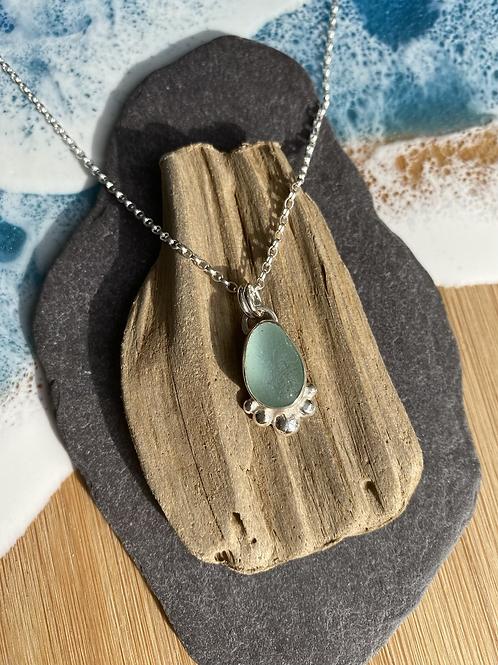 Seaglass set necklace