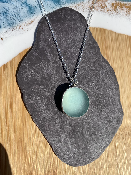 Seaglass set necklace