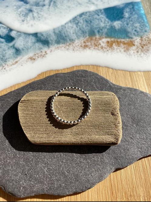 Beaded Stacker ring