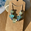 Thumbnail: Seaglass and silver beaded multi necklace