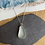 Thumbnail: Stunning grey seaglass pear drop pendant