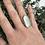 Thumbnail: Seafoam seaglass ring size N