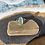 Thumbnail: Icy blue seaglass ring