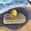 Thumbnail: Bright yellow seaglass ring
