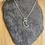Thumbnail: Single moon necklace