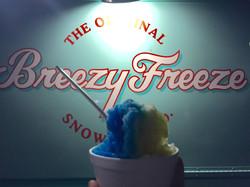 Blue Razz/Mango Shaved Ice