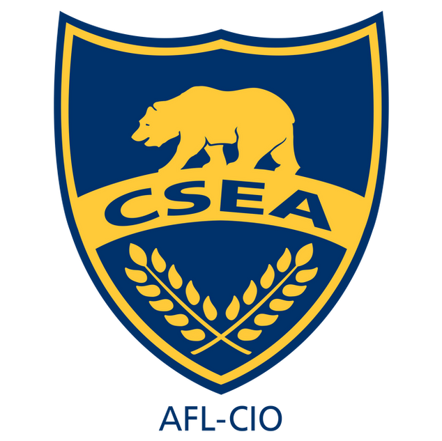 CSEA Blue and Gold Shield