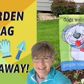 Giveaway! Lowes Garden Flag