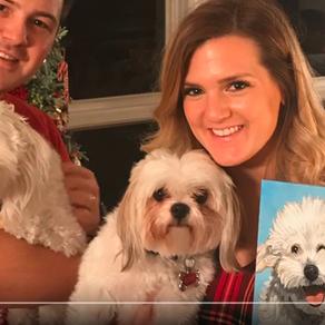 Pet Portaits for Christmas