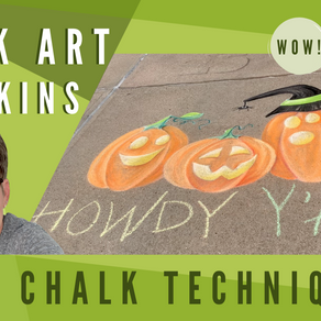 Chalk Your Walk! #27 - Pumpkins!