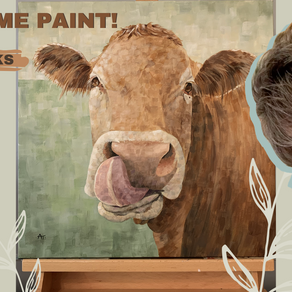 Cow Painting Process Video!