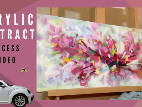 Watch this Abstract Painting Evolve!