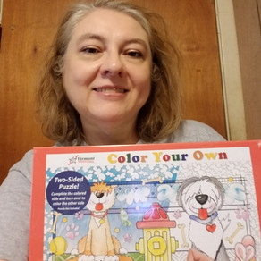 NEW Coloring Puzzle Giveway!