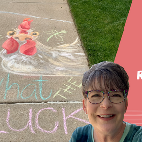 Chalk Your Walk! #7 - Rooster!