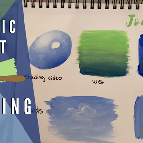 How to Blend Acrylics - Loaded with other painting tips!