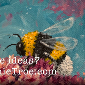Bumblebee Time Lapse Painting Video
