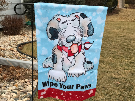 Win this Dog Flag!, no strings attached