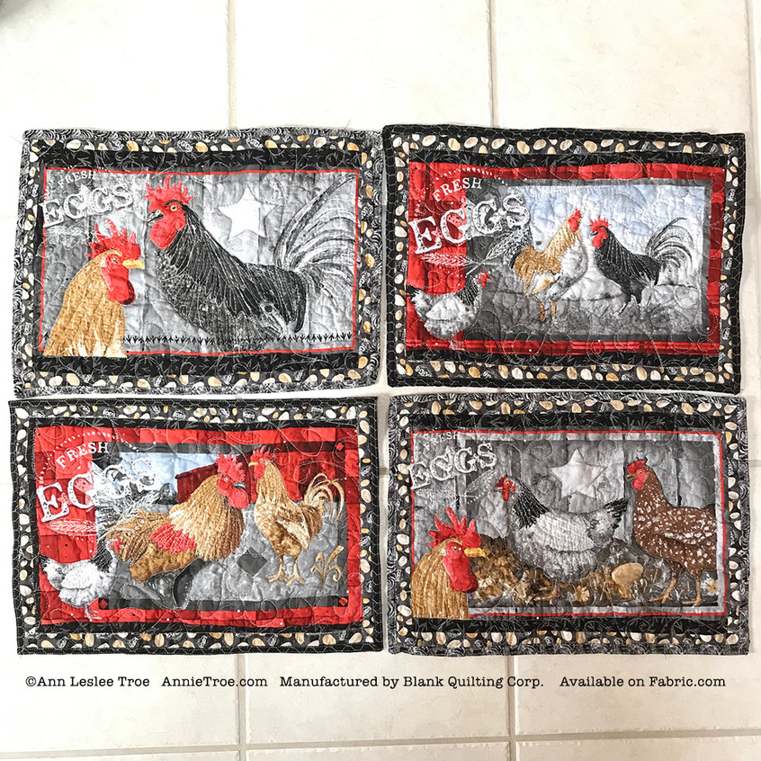 RoosterPlacemats