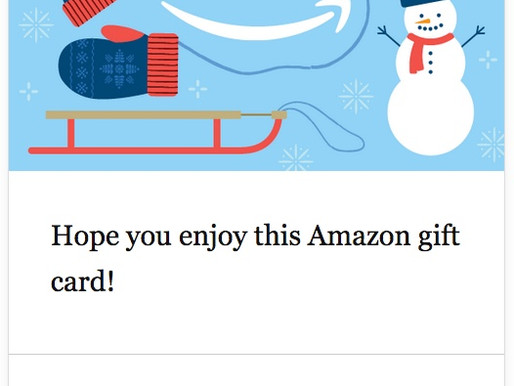 $50 Amazon eGift Card & a Printable of Your Choice!